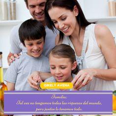 Mayo 15: Día Internacional de las Familias ~ El Secreto de una Buena Salud #diadelafamilia #familias #QikelyAvena #familia #family