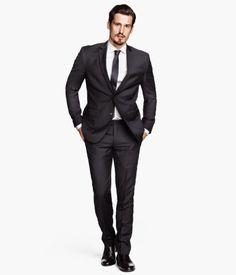The classic black suit. H&M. #HMCLASSIC