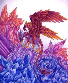 """Raptor Phoenix"" par Rachael Mayo"