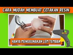 DIY, MEMBUAT CETAKAN RESIN ALTERNATIF DARI LEM GUN / RESIN ART - YouTube Making Resin Rings, Resin Art, Soap, Youtube, Diy, Bricolage, Handyman Projects, Do It Yourself, Diys