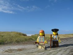 Lego Lewis and Clark sight the Pacific! Students take action figures, dolls, or objects that something represent Lewis and Clark. They will take photos in places that represent legs of their journeys. Then they will create captions and a small paragraph to describe it.