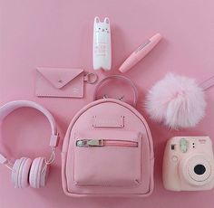 Various Features of Cute School Bags – Bags & Purses Pink Love, Cute Pink, Pretty In Pink, Organizer Box, Tout Rose, Mode Kawaii, Pink Color, Purple, Accessoires Iphone