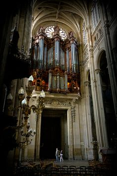 Organ at St Eustache, Paris