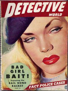 Vintage DETECTIVE WORLD Pulp Magazine (Dec. 1947) | Pop Daddy Vintage Collectibles