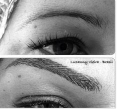 Antes e depois de uma técnica raiz. By Luzanny Vieira- Brasil
