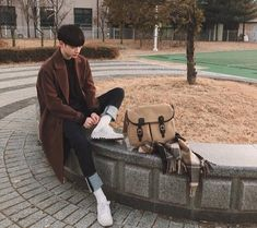 Boy outfits credits to the right owner Trend Trendy Outfits Clothes Style Cute Korean Boys, Korean Men, Asian Boys, Asian Men, Korean Fashion Trends, Asian Fashion, Boy Fashion, Mens Fashion, Fashion Outfits