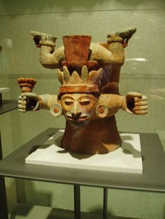 Falling Deity maya The Museo Nacional de Antropología (National Museum of Anthropology) i