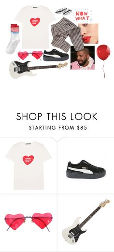 """I bet you give good hugs (and kisses)"" by h3ykatrina on Polyvore featuring AlexaChung, Puma, Lindberg, Floyd and KEEP ME"