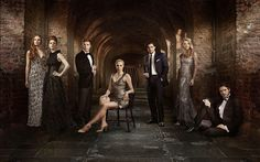 Kit Harington, Richard Madden, Natalie Dormer, Joe Dempsie, Gwendoline Christie, Rose Leslie and Sophie Turner