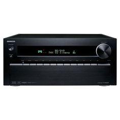 Onkyo TX-NR5009 3D Ready A/V Receiver - 1305 W RMS - 9.2 Channel - Black - Multizone - THX, DTS, DTS Neo:X, DTS HD, Dolby TrueHD, Dolby Pro Logic IIz, Audyssey DSX, Dolby Digital, THX Ultra2 Plus, Neural Surround - 20 Hz to 20 kHz - AM, FM, Sirius - Ether