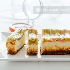 Sernik Izaura – Przepisy kulinarne ze zdjęciami Streusel Muffins, Polish Desserts, Vanilla Cake, Cheesecake, Sweets, Food, Rhubarb Recipes, Cakes, Baking
