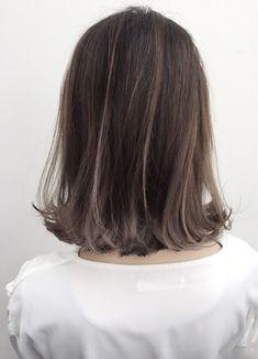 Pretty Hair Color, Hair Color And Cut, Hidden Hair Color, Brown Hair Balayage, Medium Short Hair, Aesthetic Hair, Pretty Hairstyles, Hair Inspiration, Short Hair Styles