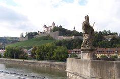 Wurtzburg,Germany  Gorgeous castle and vineyards