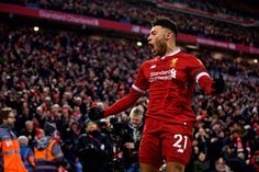 Alex Oxlade-Chamberlain says Man City's style played to Liverpool strengths