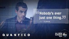 "S1 Ep3 ""Cover"" - Simon says.... #Quantico"