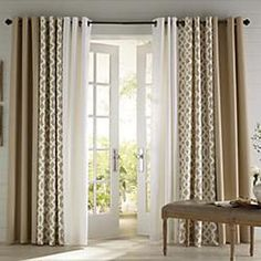 trellis insulated curtains - Google Search