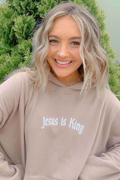 Christian Hoodies, Soft Fabrics, Comfy, King, Unisex, Shirt Ideas, Sweatshirts, Pray, Sweaters