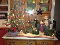 Country Christmas decor by jodie