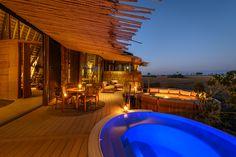 External views of Jao Camp, Botswana
