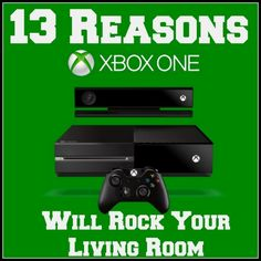 I can not wait until the new Xbox comes out!! 13 Reasons Xbox One Will Rock Your Living Room from
