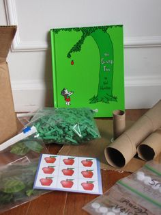 Book and craft swap with The Giving Tree by Shel Silverstein.