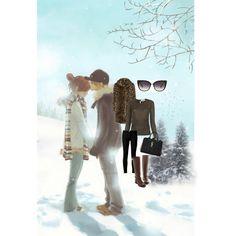 """Snow-Snow Everywhere"" by juhiawasthi on Polyvore"