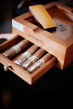 cigars. I so want to smoke a good celebratory cigar on my big day with my guests. Having a cigar roller is kind of my dream, odly enough