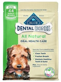 BLUE BONES  NATURAL DENTAL CHEWS  ALL SIZES MINI 12 OUNCES -- Want to know more, click on the image.