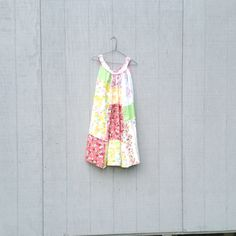 romantic Upcycled clothing / Patchwork Dress / Funky by CreoleSha