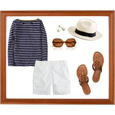 """Preppy Summer"" by chelseamathis on Polyvore"