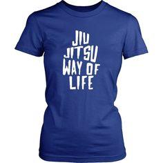 Brazilian Jiu-Jitsu T Shirt - Jiu Jitsu Way of Life