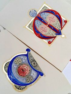 Tiziana Gironi - illustratrice, disegnatrice, pittrice Calligraphy Letters, Caligraphy, Islamic Calligraphy, Tattoo Lettering Fonts, Hand Lettering, Illuminated Letters, Illuminated Manuscript, Illumination Art, Beautiful Handwriting