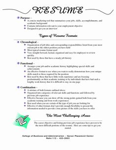 Resume Types Resume Examples With No Job Experience  Resume Examples Job Resume .