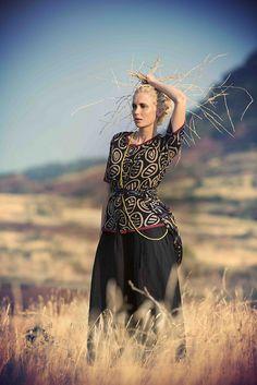 #Farbbberatung #Stilberatung #Farbenreich mit www.farben-reich.com Westen - Sonnenuntergang in der Kalahari