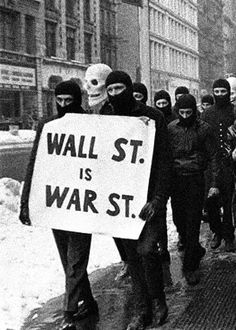 wall st. is war st.