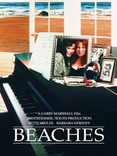 Beaches Movie Poster 1988 Bette Midler Barbara Hershey Film 17 X 26 Barbara Hershey, 80s Movies, Great Movies, Movies To Watch, Awesome Movies, See Movie, Movie Tv, Movie Hall, Movie List