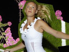 Caroline Wozniacki Danish Professional Tennis Player very hot and