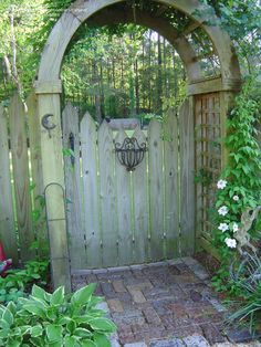 Another lovely garden gate to ponder