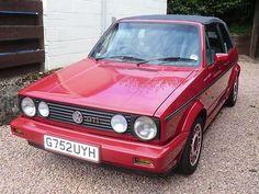 Golf 1 Cabriolet, Gti Car, Convertible, Volkswagen, Mk1, Car Ins, The Originals, Classic, Vroom Vroom