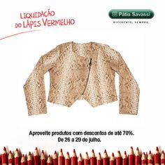 Casaco Est Piton, de 259,00 por R$149,00 na Enjoy do @meupatiosavassi.