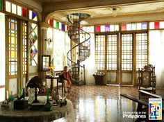 Filipino Architecture, Philippine Architecture, Art And Architecture, Filipino House, Stair Elevator, Philippine Houses, My Ideal Home, Tropical Houses, Retail Design