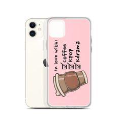 Coffee K-Pop K-Drama Premium Korean iPhone Case #kpop #coffee #iphonecase Iphone 7 Plus, Iphone 11, Iphone Cases, Korean Phone Cases, K Pop Music, Helping Children, Pop Bands, Coffee Love, Kdrama