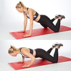 No gym? In just a few minutes, you can rock our ultimate abs and butt workout right in your home gym (or living room). Try this abs and butt workout twice a week and you'll feel stronger and fitter in no time. Free Weight Arm Workout, Arm Workout For Beginners, Arm Workouts At Home, Bike Workouts, Swimming Workouts, Swimming Tips, Cycling Workout, Belly Workouts, Short Workouts