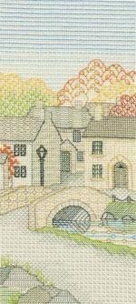 Bridge Street Blackwork Kit from Derwentwater Designs