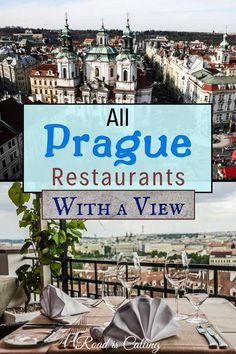 This is the most complete list of Prague restaurants with a view where you can taste excellent Prague cuisine, receive stellar service, get the best Prague views and enjoy the atmosphere Europe Travel Tips, European Travel, Travel Guides, Travel Destinations, European Vacation, Budapest, Prague Restaurants, Prague Travel, Prague Czech Republic