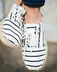 This is not a drill, it's espadrille season! Tell your Stylist you're into this rope-sole trend like @dresspobybismah. #YouStyled