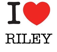 I Heart Riley #love #heart