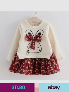 Vestido de Otoño invierno de los niños ropa de Muchachas de la manera  vestido de manga larga de la princesa de dibujos animados vestido de niña  de lana ... cbc45c65f055