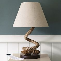 Nautical Rope Lighting Fixtures - Driven by Decor