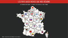 les pays aussi riches que nos régions